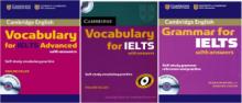 مجموعه 3 جلدی Cambridge Vocabulary and Grammar for IELTS