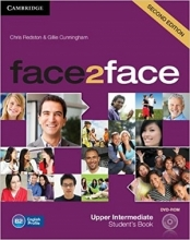 کتاب آموزشی فیس تو فیس face2face upper-intermediate 2nd s.b+w.b+dvd