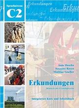 کتاب Erkundungen C2 - Kurs- und Arbeitsbuch mit CD