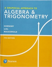 کتاب A Graphical Approach to Algebra & Trigonometry, 7th Edition