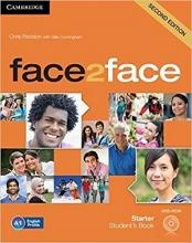 کتاب آموزشی فیس تو فیس Face2Face 2nd Starter SB+WB+CD