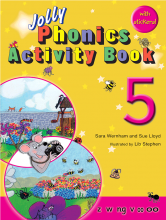 کتاب Jolly Phonics 5 Activity Book