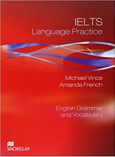 کتاب آیلتس لنگوییج پرکتیس انگلیش گرامر اند وکبیولری IELTS Language Practice English Grammar and Vocabulary