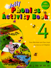کتاب Jolly Phonics 4 Activity Book