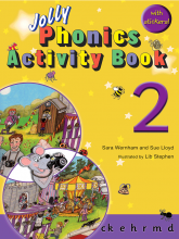 کتاب Jolly Phonics 2 Activity Book
