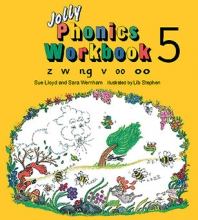 کتاب Jolly Phonics 5 Workbooks