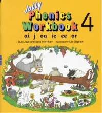 کتاب Jolly Phonics 4 Workbooks