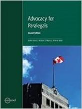 کتاب Advocacy for Paralegals, 2nd Edition