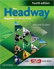 کتاب آموزشی نیو هدوی New Headway 4th Beginner Student Book