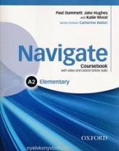 کتاب Navigate Elementary (A2) Coursebook + W.B + CD