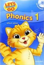 کتاب لتس گو فونیکس Lets Go Phonics 1 CD