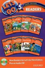 کتاب لتس گو 5 ریدرز بوک ویرایش سوم Lets Go 5 Readers Book with cd