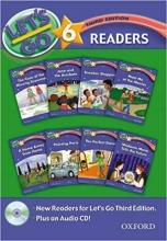 کتاب لتس گو 6 ریدرز بوک ویرایش سوم Lets Go 6 Readers Book with cd