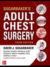 کتاب شوگربیکر آدالت چست سرجری 2020 Sugarbaker's Adult Chest Surgery, 3rd edition