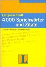 کتاب  Langenscheidt 4000 Sprichworter Und Zitate