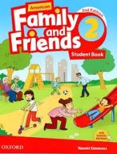 کتاب American Family and Friends 2nd 2 SB+WB+DVD