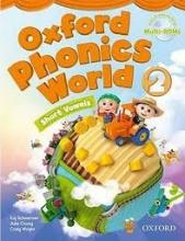 کتاب Oxford Phonics World 2 SB+WB+DVD