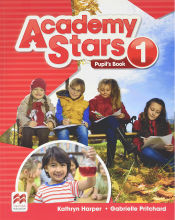 کتاب Academy Stars 1 Pupils Book+WB+CD