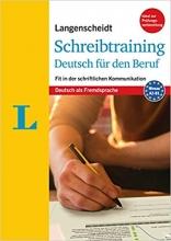 کتاب Langenscheidt Schreibtraining Deutsch für den Beruf - Niveau: A2/B1