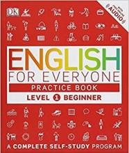کتاب English for Everyone Level 1 Beginner Practice سیاه و سفید