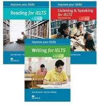پک سه جلدی کتاب ایمپرو آیلتس Improve Your Skills ielts 4.5-6