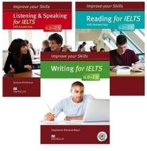 پک سه جلدی کتاب ایمپرو آیلتس Improve Your Skills ielts 6.0-7.5
