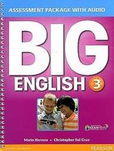 کتاب بیگ اینگلیش 3 اسسمنت پکیج Big English 3 Assessment Package+CD