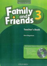 کتاب معلم  فامیلی اند فرندز امریکن اینگلیش تری تیچرز بوک Family and Friends American English 3 Teachers Book