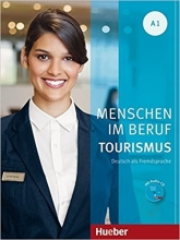 کتاب Menschen Im Beruf Tourismus: Kursbuch A1 + CD