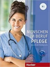 کتاب Menschen Im Beruf Pflege: Kursbuch B1 + CD