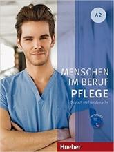 کتاب Menschen Im Beruf Pflege: Kursbuch A2 + CD