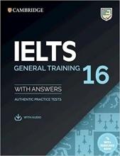 کتاب آیلتس کمبریج جنرال IELTS Cambridge 16 General + cd