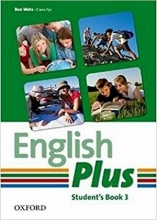 کتاب English Plus 3 SB+WB+CD