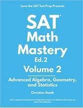 کتاب اس ای تی مت مستری SAT Math Mastery Advanced Algebra Geometry and Statistics