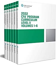 کتاب سی اف ای پروگرام کوریکولوم The 2022 CFA Program Curriculum Level II Box Set