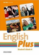 کتاب English Plus 4 SB+WB+2CD
