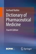 کتاب دیکشنری آف فارماسیوتیکال مدیسین Dictionary of Pharmaceutical Medicine