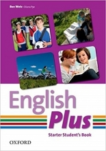 کتاب English Plus Starter SB+WB+CD