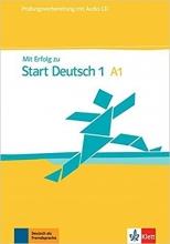 کتاب MIT Erfolg Zu Start Deutsch 1 (A1): Prufungsvorbereitung - Buch & Audio-CD