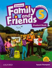 کتاب American Family and Friends 2nd 5 S+W+CD