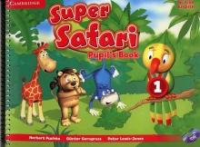 کتاب Super Safari 1 British Pupils+Activity Book+CD+DVD