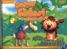 کتاب Super Safari 2 American SB+WB+CD & DVD
