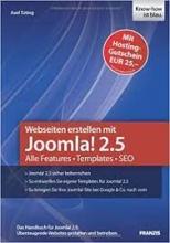 کتاب وب سایتن ارستلن میت جوملا2.5  Webseiten erstellen mit Joomla! 2.5 : Alle Features, Templates, SEO