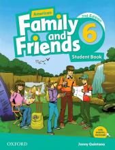 کتاب American Family and Friends 2nd 6 S+W+CD+DVD