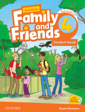 کتاب American Family and Friends 2nd 4 S+W+CD