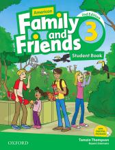 کتاب American Family and Friends 2nd 3 S+W+CD