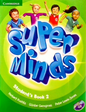 کتاب Super Minds 2 SB+WB+CD+DVD