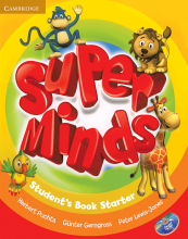 کتاب Super Minds Starter SB+WB+CD+DVD