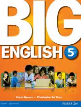 کتاب بیگ اینگلیش Big English 5 SB+WB+CD+DVD