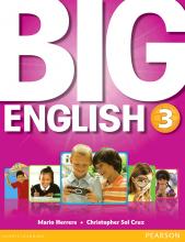 کتاب بیگ اینگلیش Big English 3 SB+WB+CD+DVD